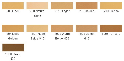 emani powder foundation colors