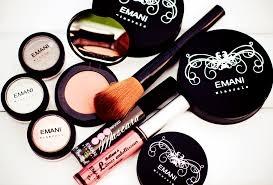 emani cosmetics range